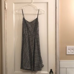 Old Navy Black & White Mini Dress, Size XS
